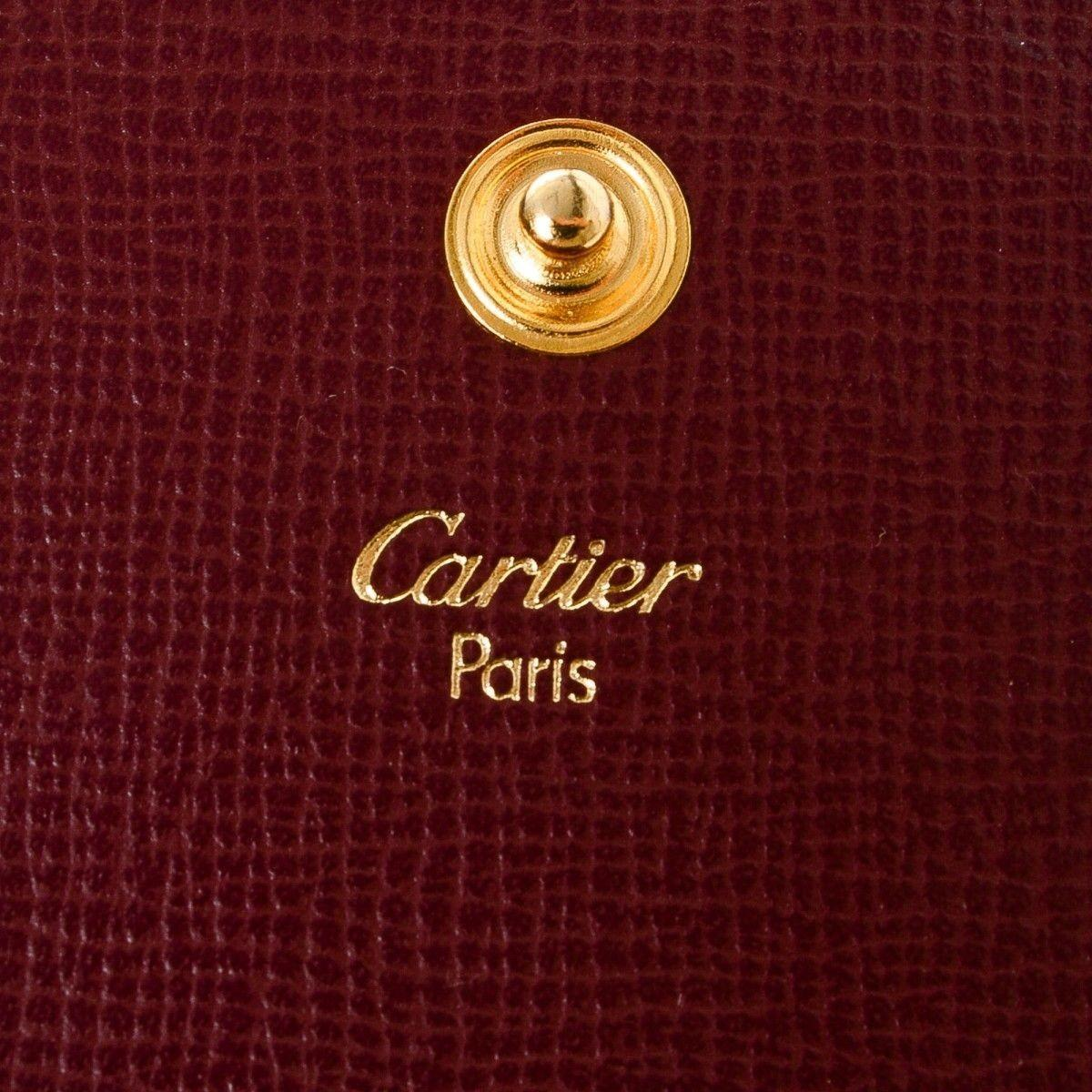 Cartier Coin Purse Leather Lxrandco Pre Owned Luxury