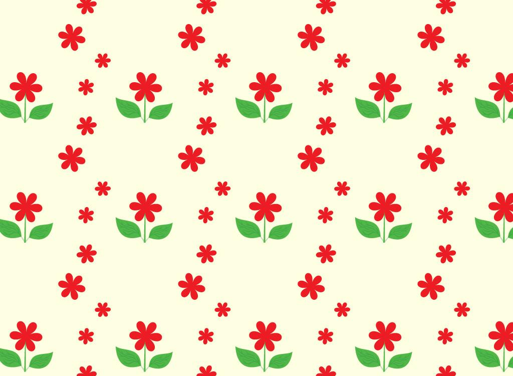 Cartoon Spring Flowers Cliparts