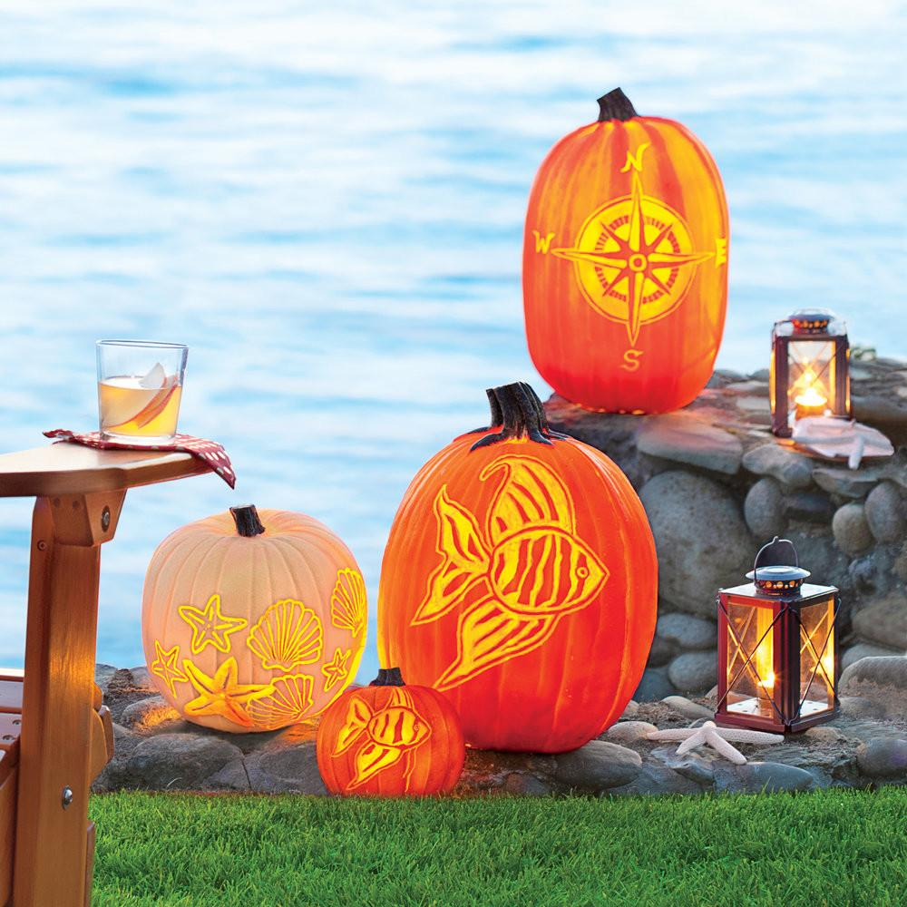 Carve Coastal Pumpkin Living