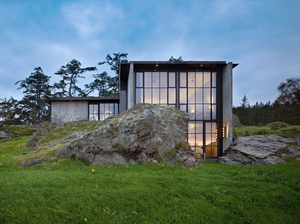 Carved Into Stone Pierre House Olson Kundig Architects
