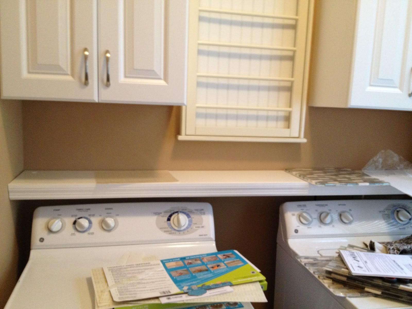 Casalupoli Laundry Room Over Washer Dryer Shelf