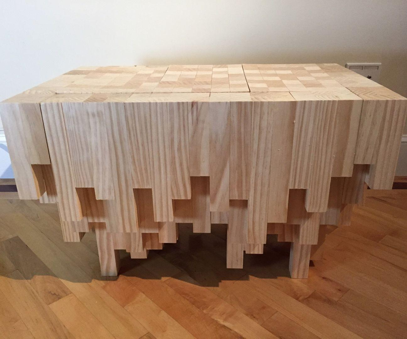 Cascade Coffee Table Hidden Compartment