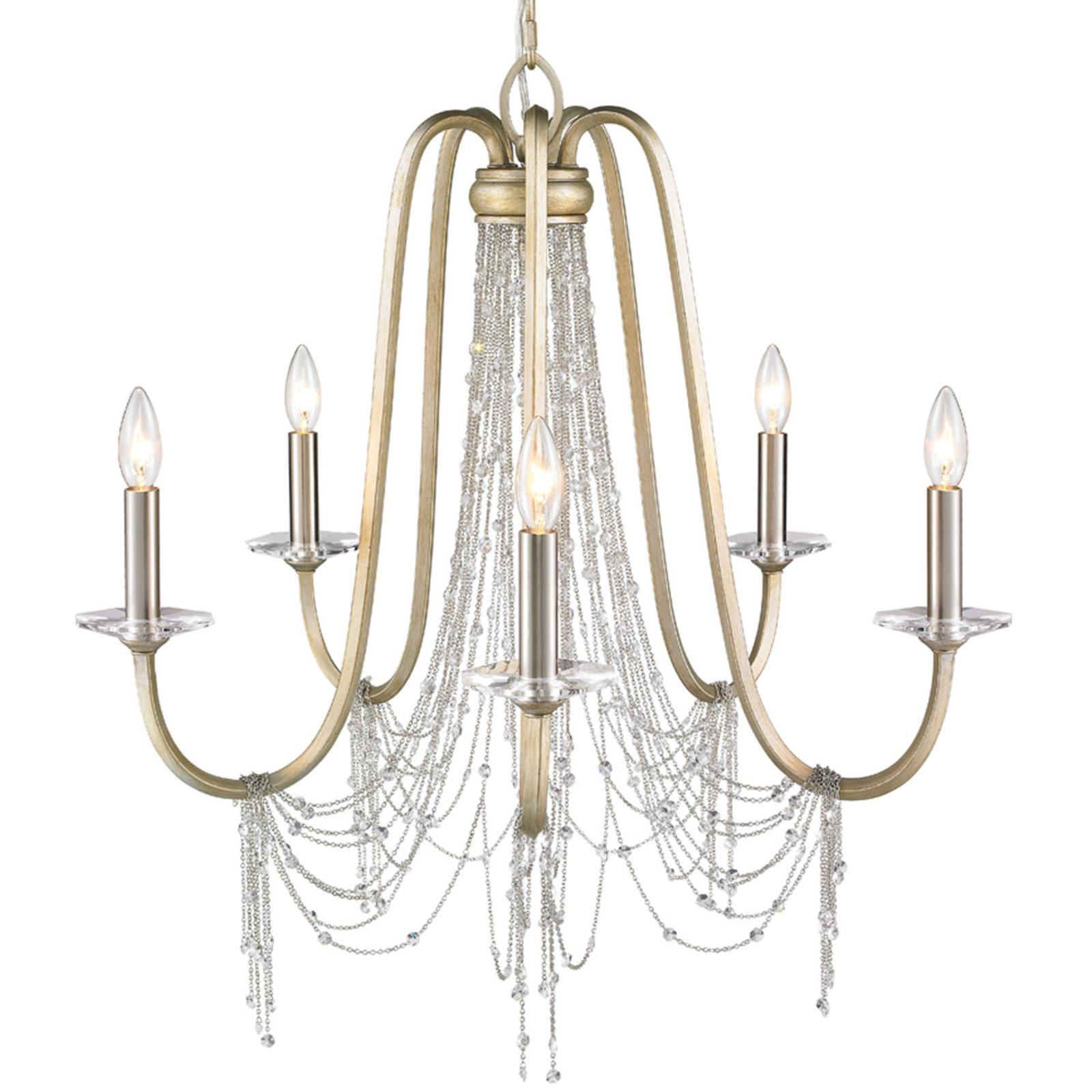 Cascading Crystal Chandelier Light Shades