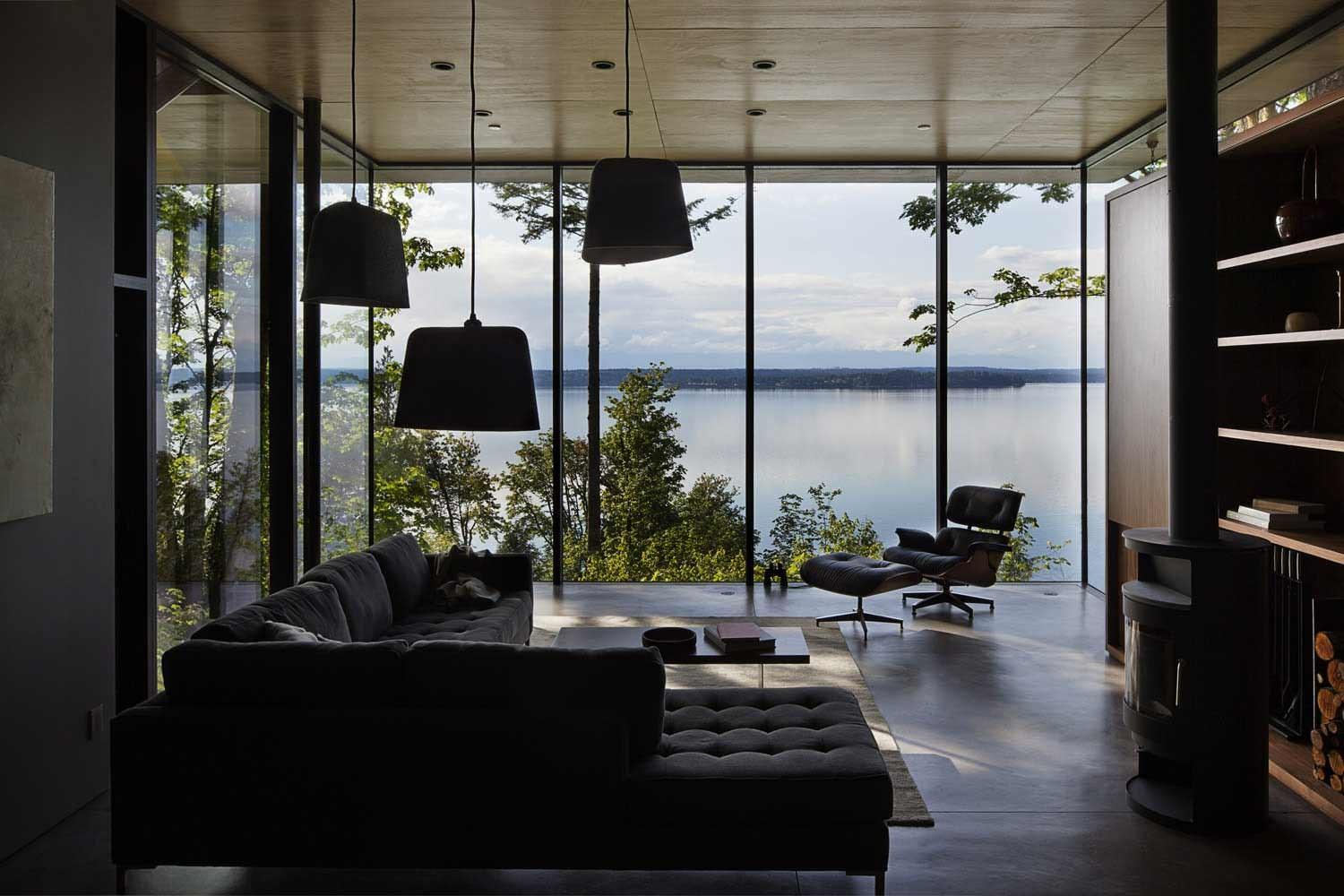 Case Inlet Retreat Architects Design Father