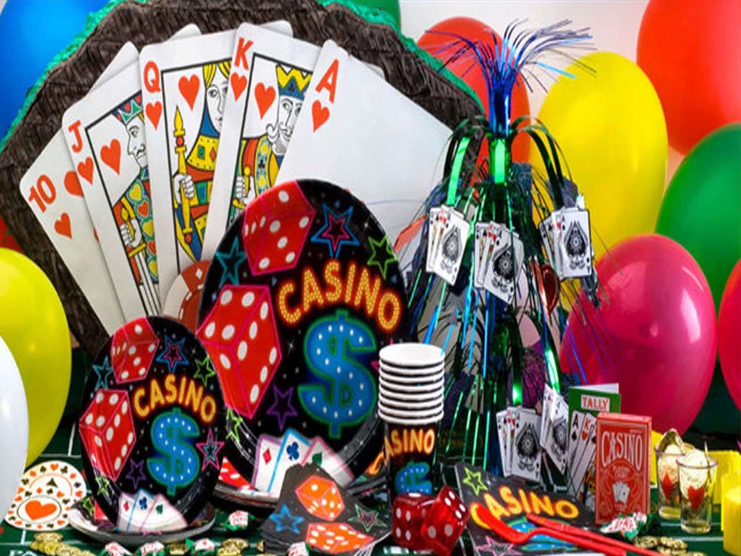 Casino Theme Party Ideas Caterers