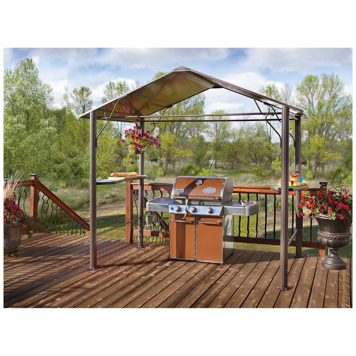 Castlecreek Hard Top Bbq Gazebo Awnings