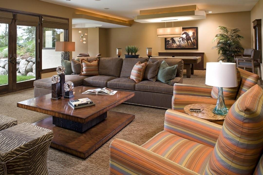 Casual Comfortable Family Room Design Ideas