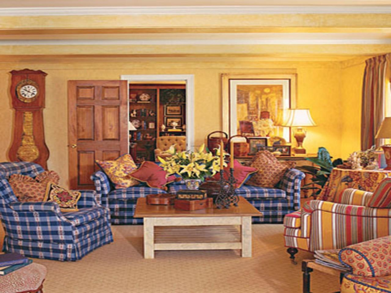 Casual Country Furniture Rustic Living Room