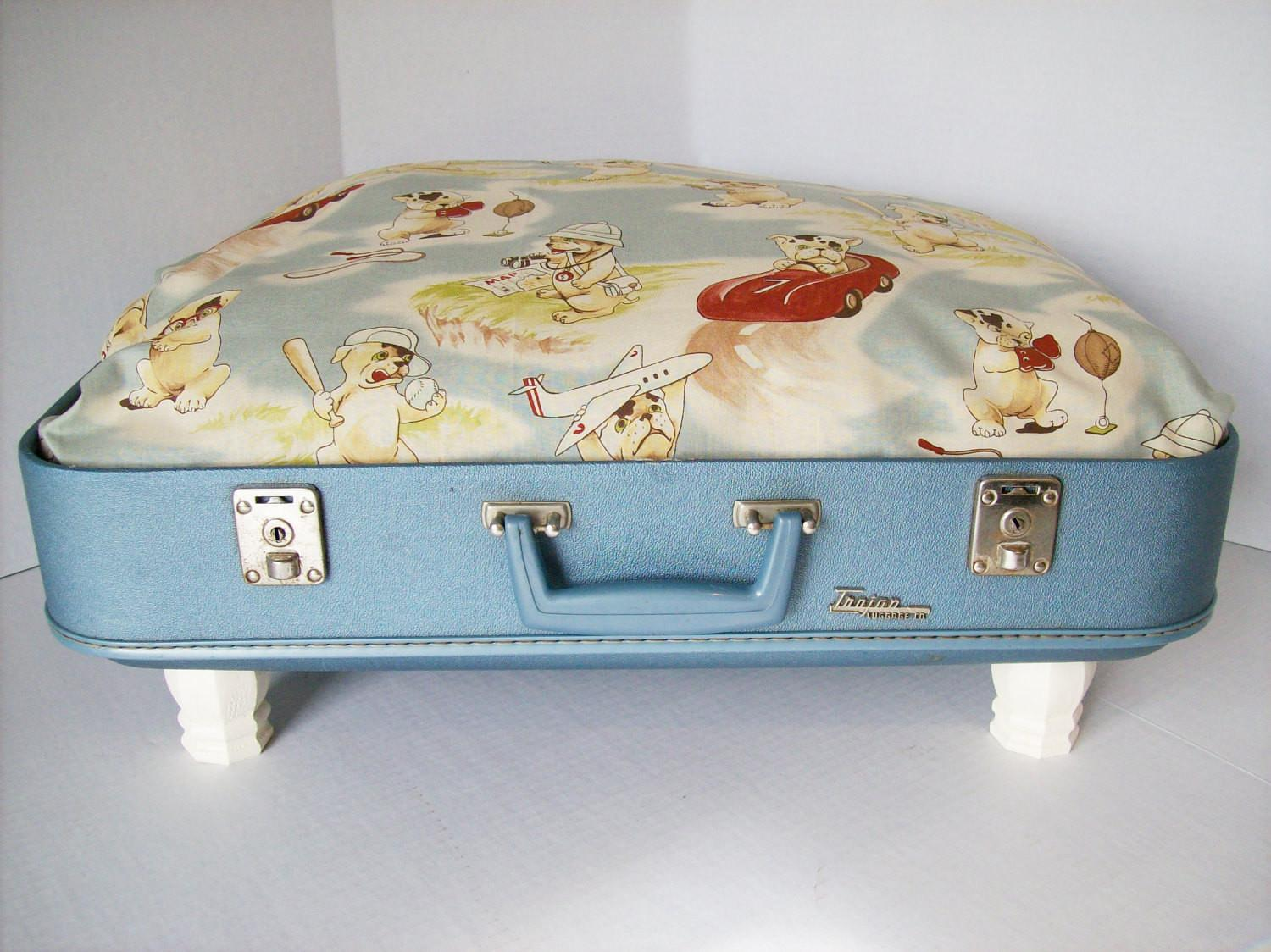 Cat Beds Pet Suitcases Old