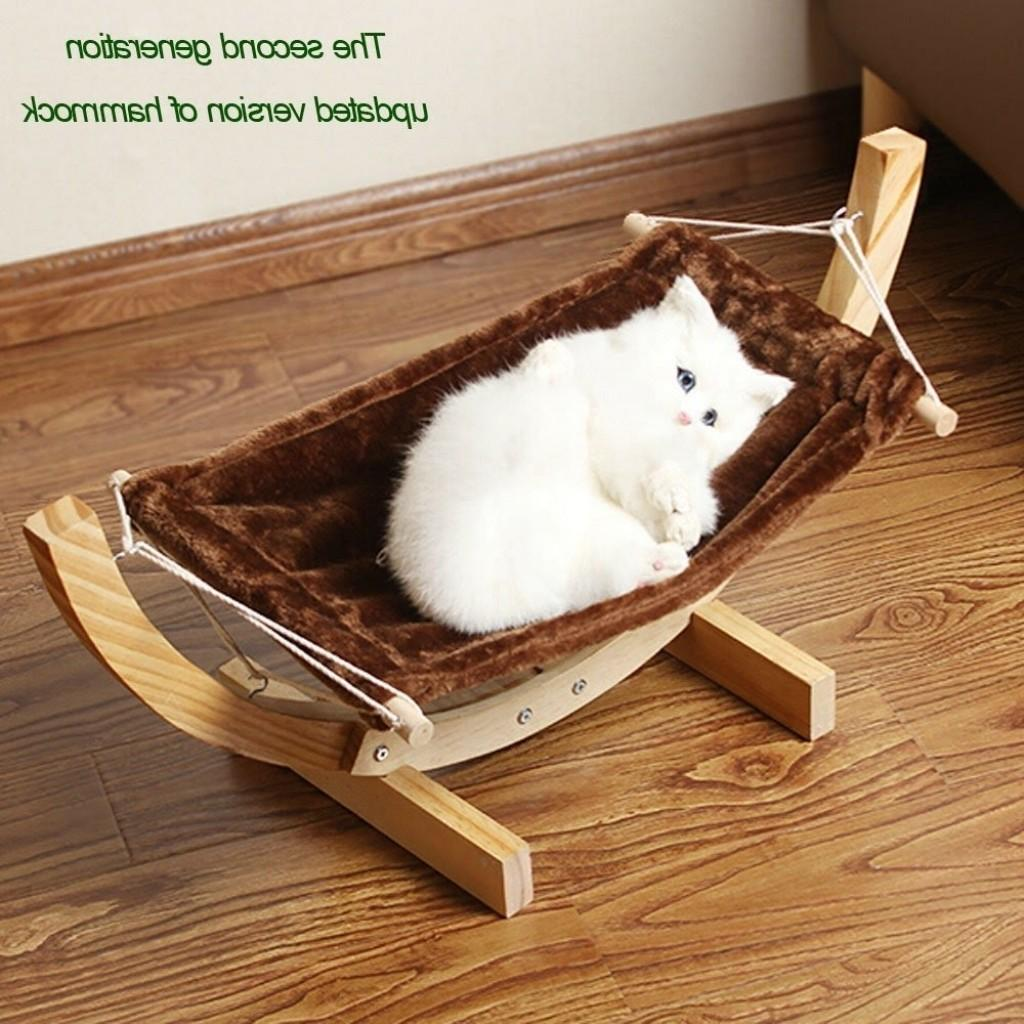 Cat Hammock Bed Diy Inside Dog