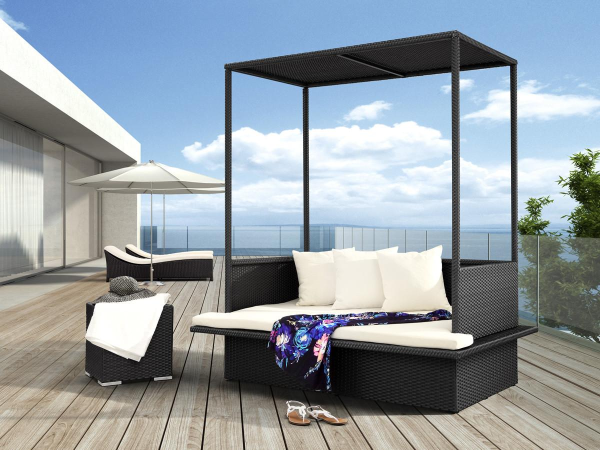 Catch Mid Day Nap These Outdoor Patio Daybeds