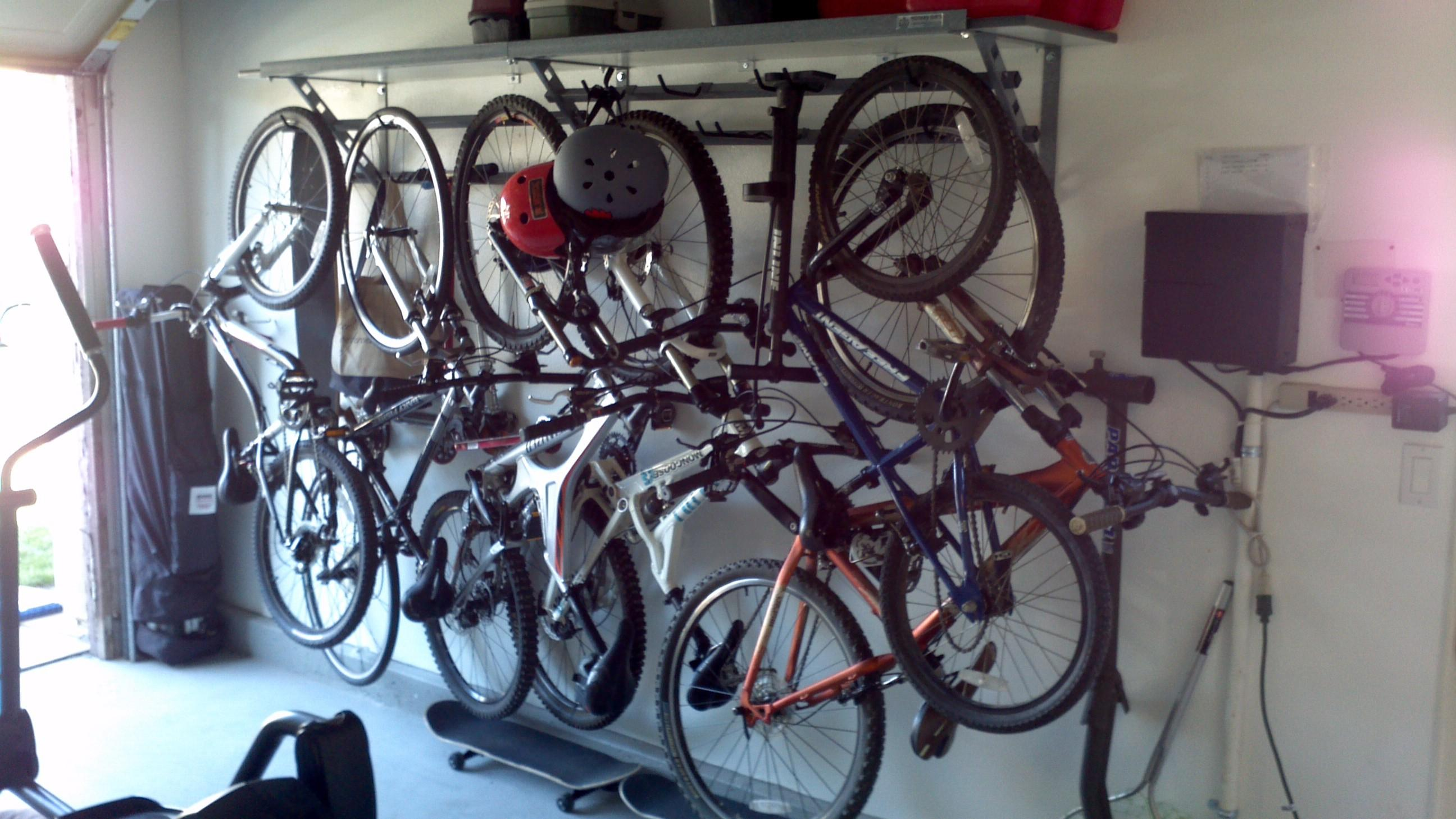 Categories Solid Wall Mount Vertical Bike Storage