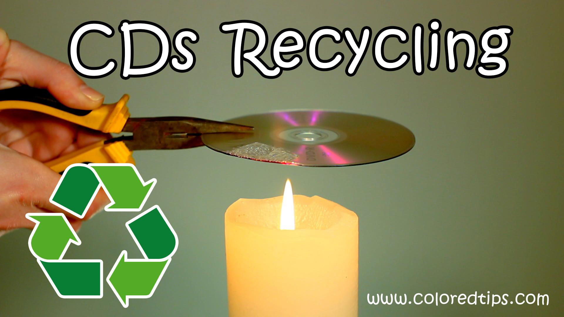 Cds Recycling Idea Way Recycle Options