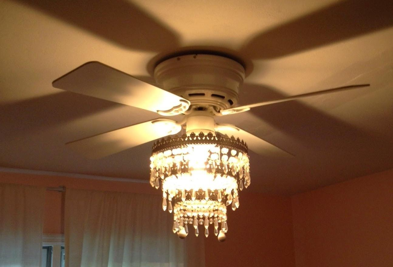 Ceiling Fan Chandelier Diy Garage Home Decor Ideas