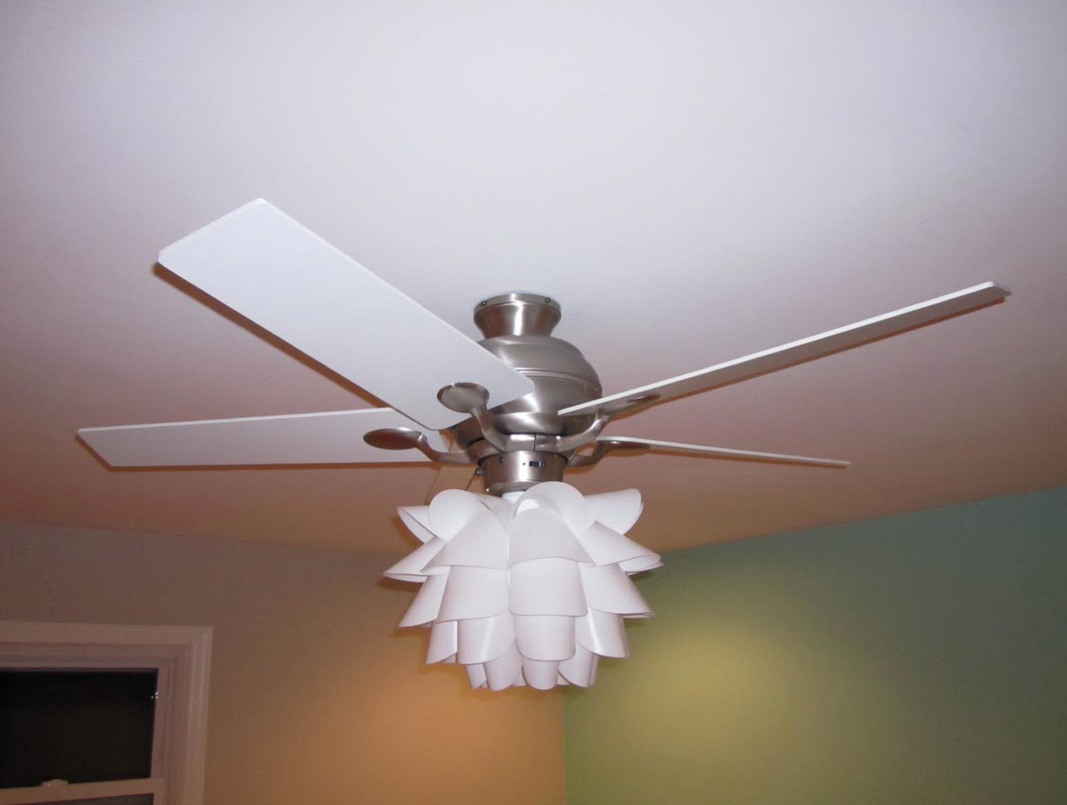 Ceiling Fan Chandelier Real Work Art Light