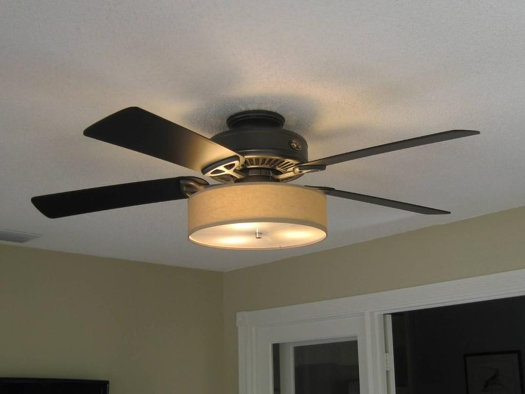 Ceiling Fan Ideas Beautiful Drum Light