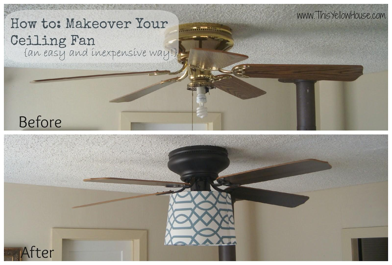 Ceiling Fan Makeover Mom House Ideas