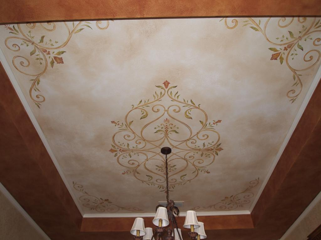 Ceiling Stencil Designs Lighting Furniture Design