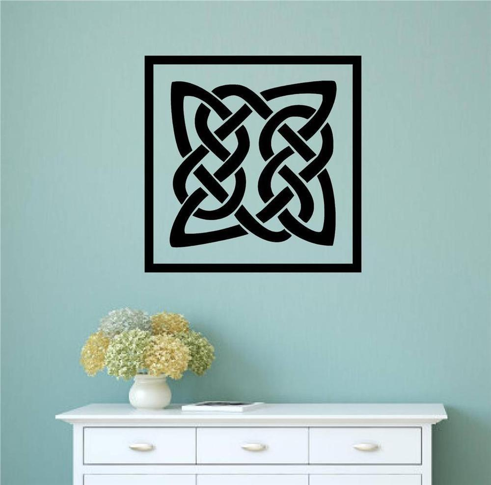 Celtic Irish Design Patrick Day Vinyl Decal Wall