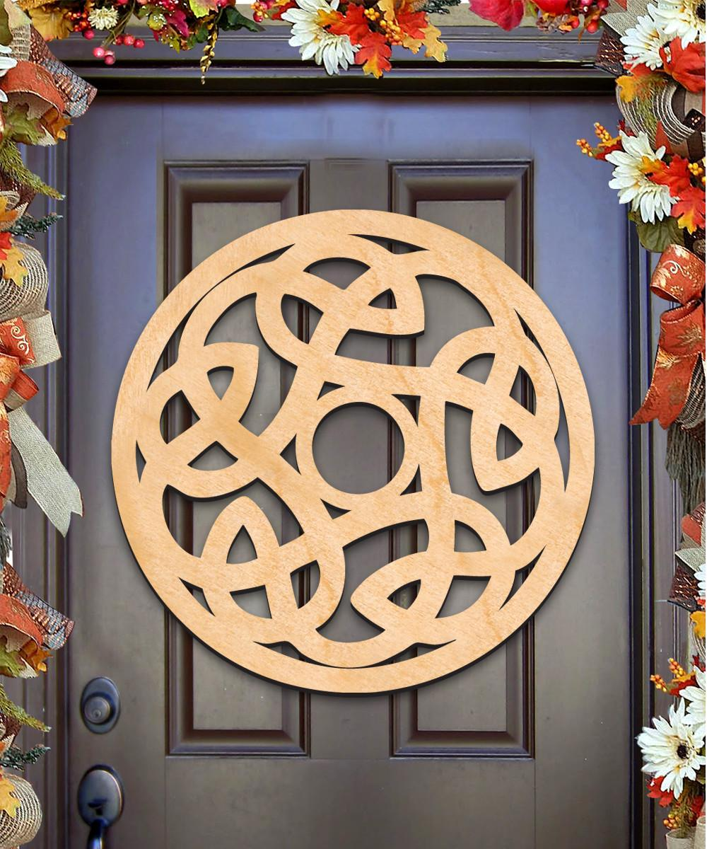 Celtic Spiral Wall Decor Door Hanger H