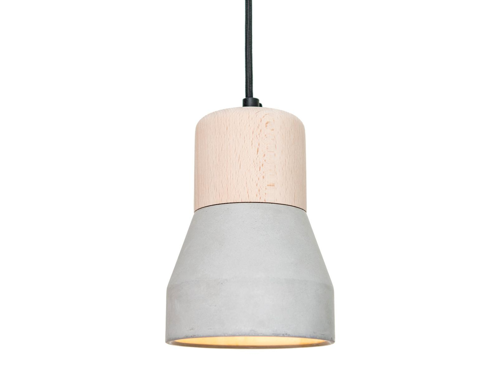 Cement Wood Pendant Light Specimen Ceiling Ahalife