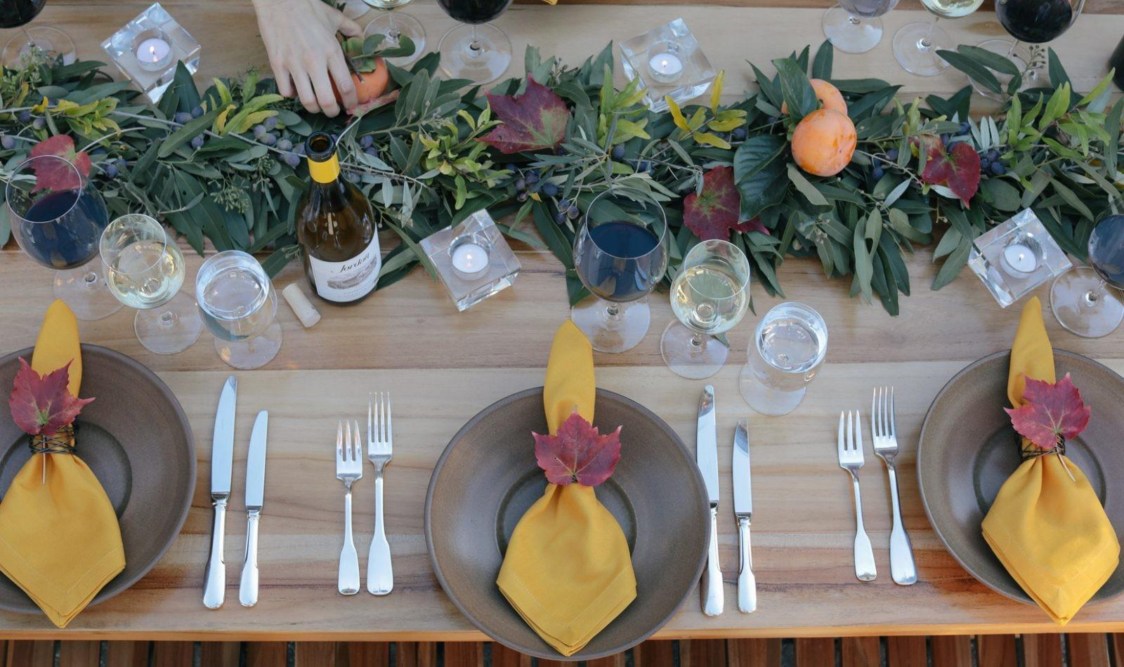 Centerpiece Ideas Thanksgiving Table Decorations