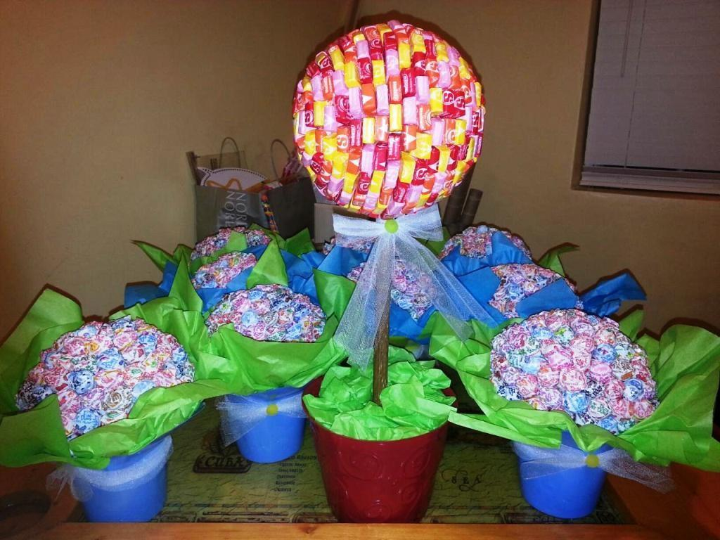 Centerpieces Table Treats Candyland