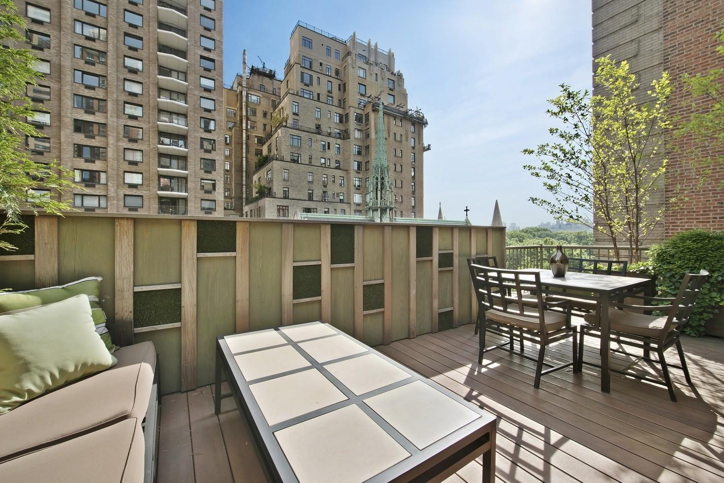 Central Park West Duplex Penthouse Bed Bath Lincoln