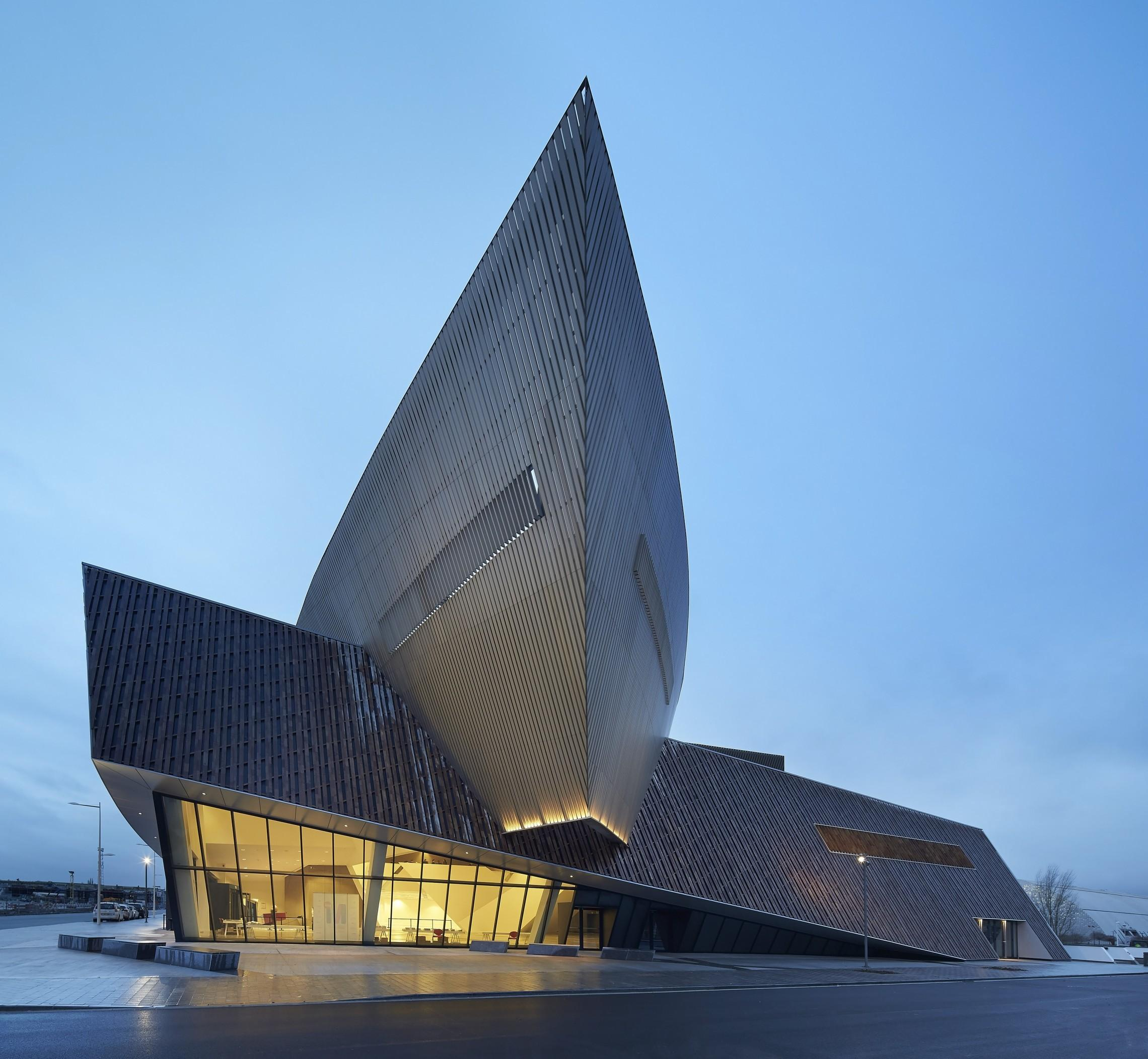 Centre Congr Mons Libeskind