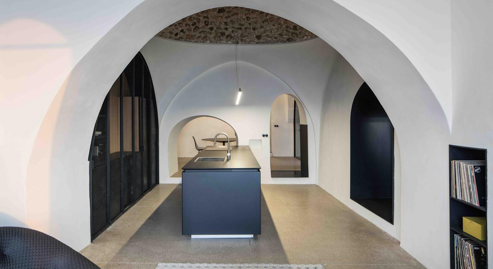 Centuries Old Apartment Israel Transformed Into