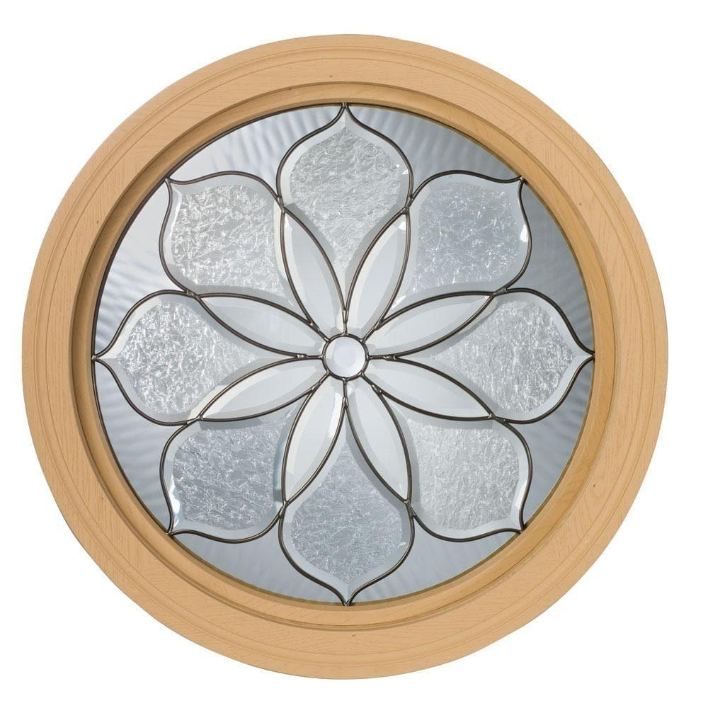 Century Primed Fixed Perennial Design Round Window