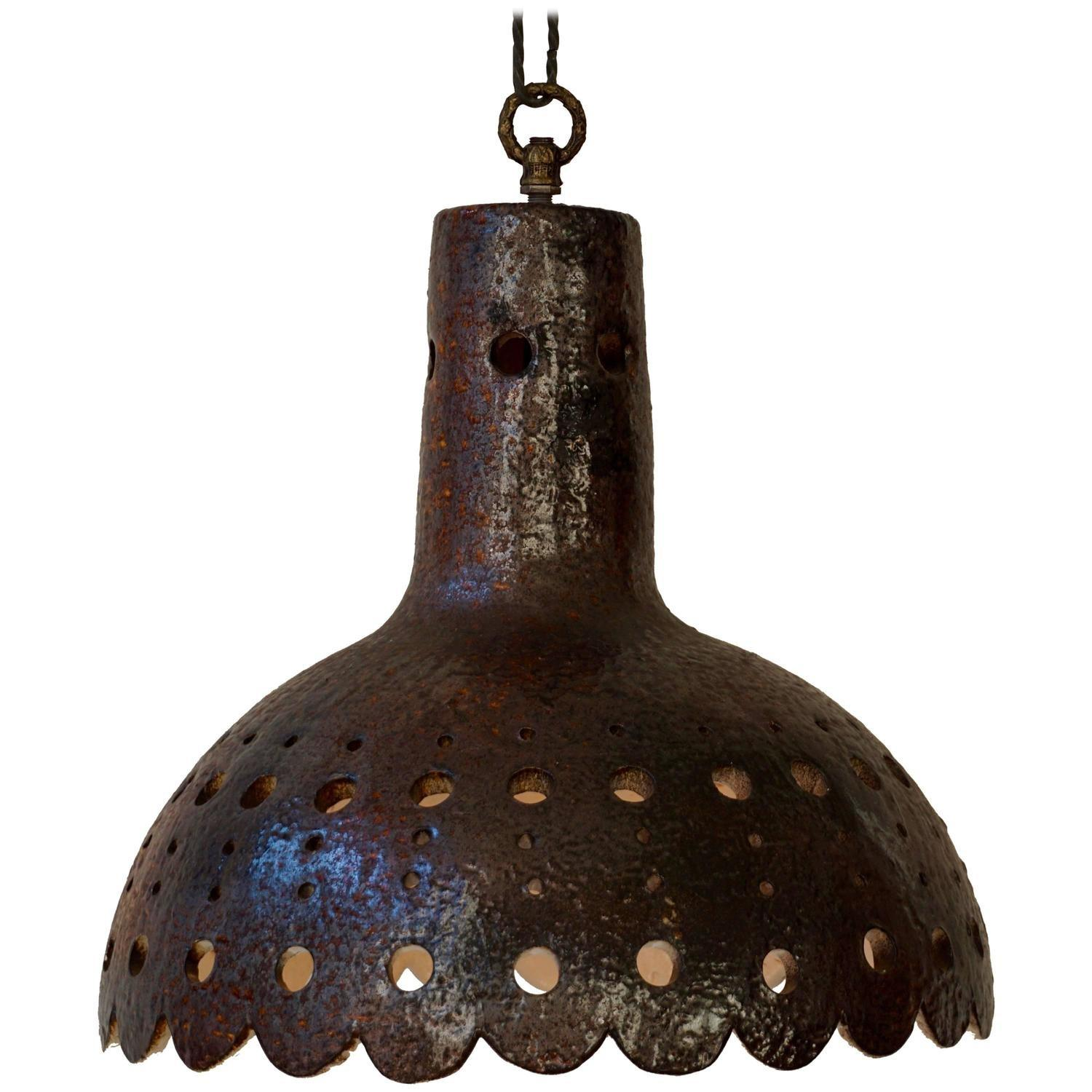 Ceramic Pendant Light 1stdibs
