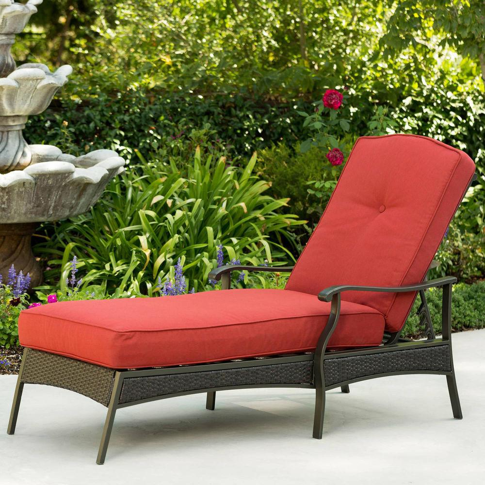 Chaise Lounge Chair Outdoor Yard Pool Patio Furniture