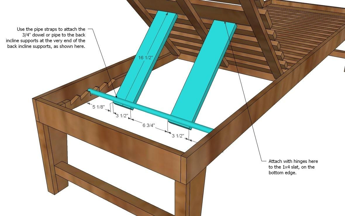 Chaise Lounge Plans Pdf Woodworking Pvc