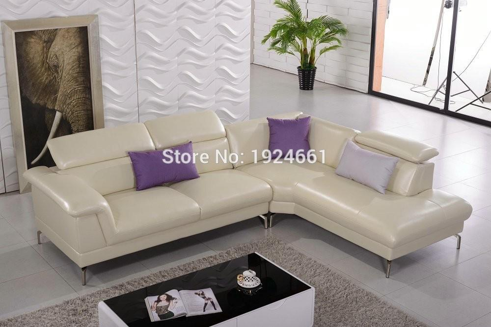 Chaise Sectional Sofa Chair Real European Style Living