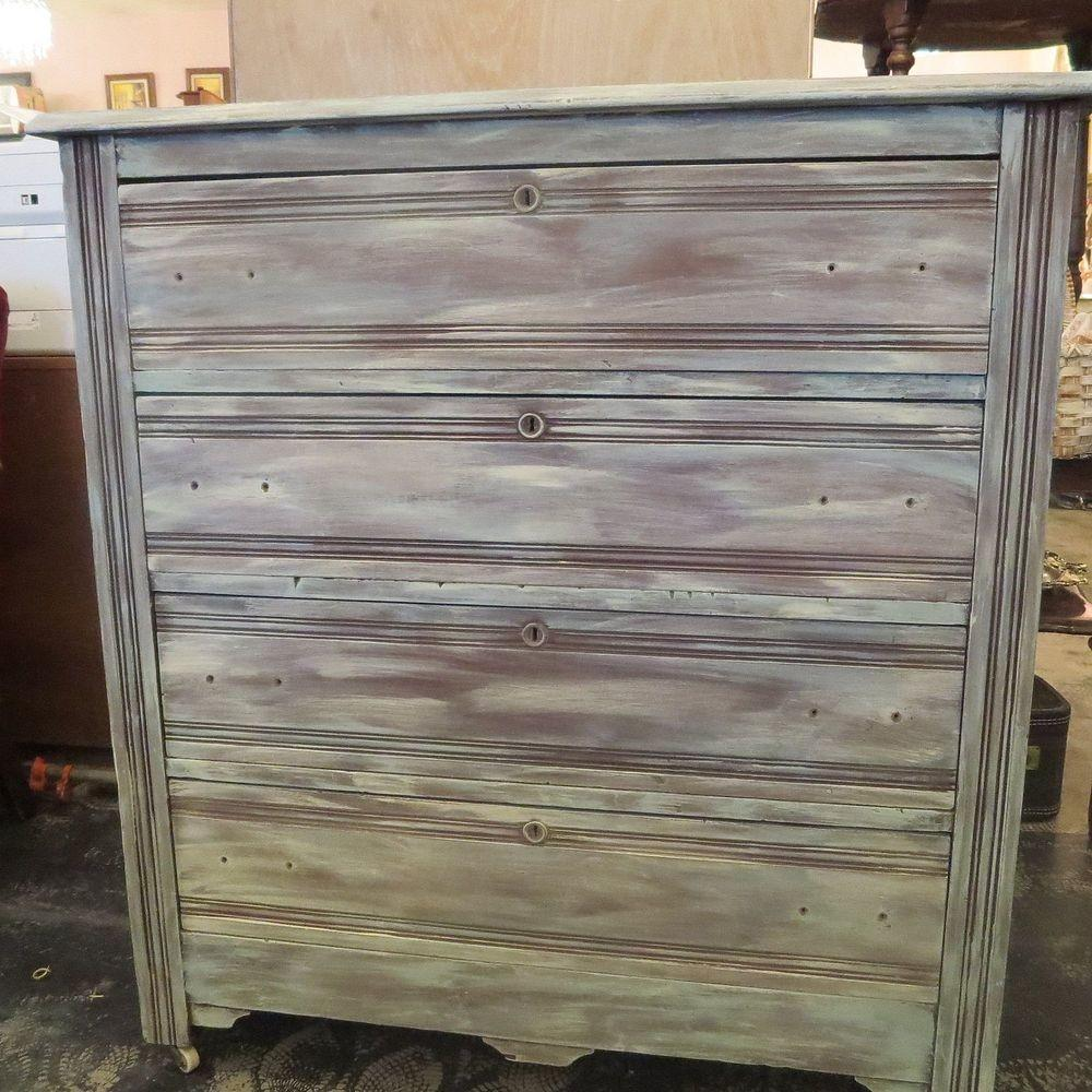 Chalk Paint Annie Sloan Dresser Paris Theme