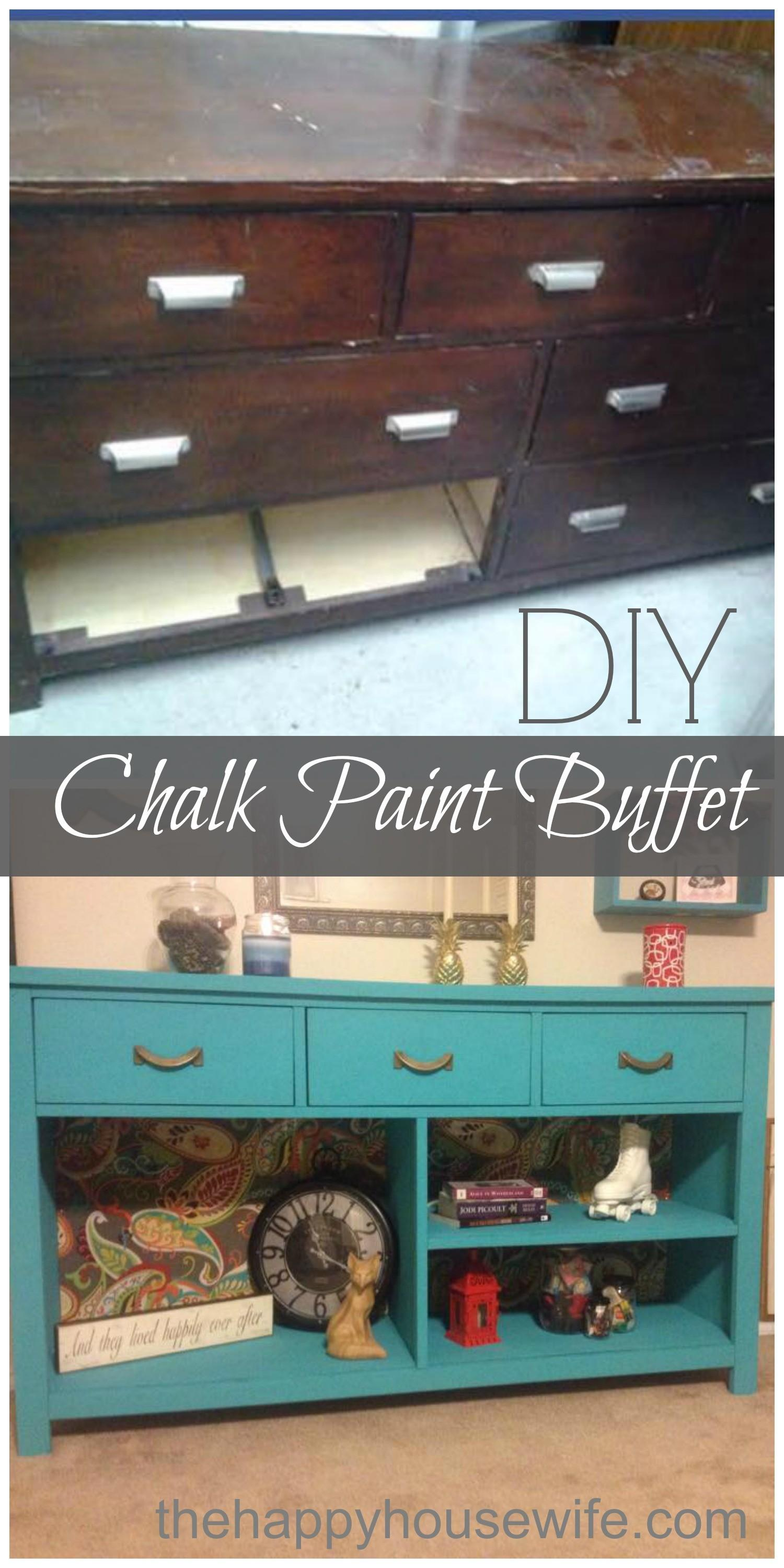 Chalk Paint Dresser Diy Happy Housewife Home