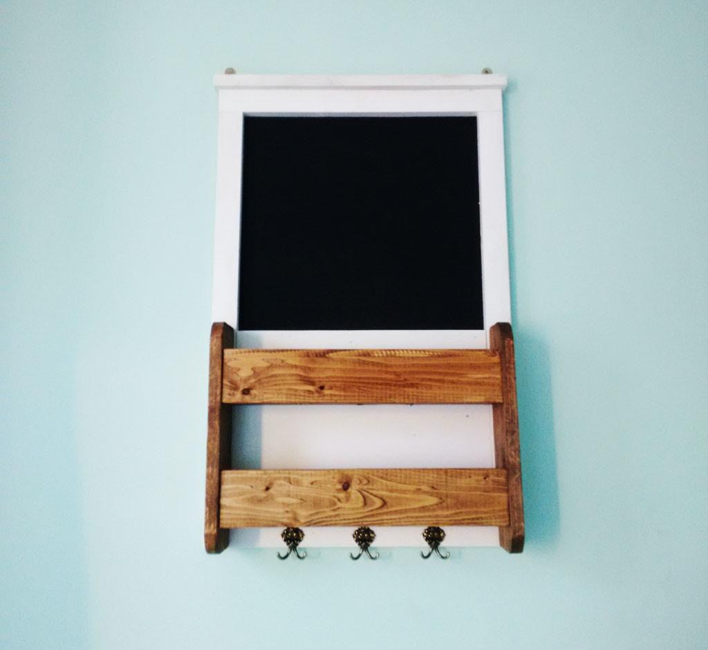 Chalkboard Key Holder Can Make One Interior