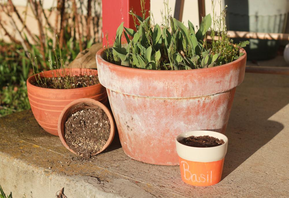 Chalkboard Planters Crafted Life