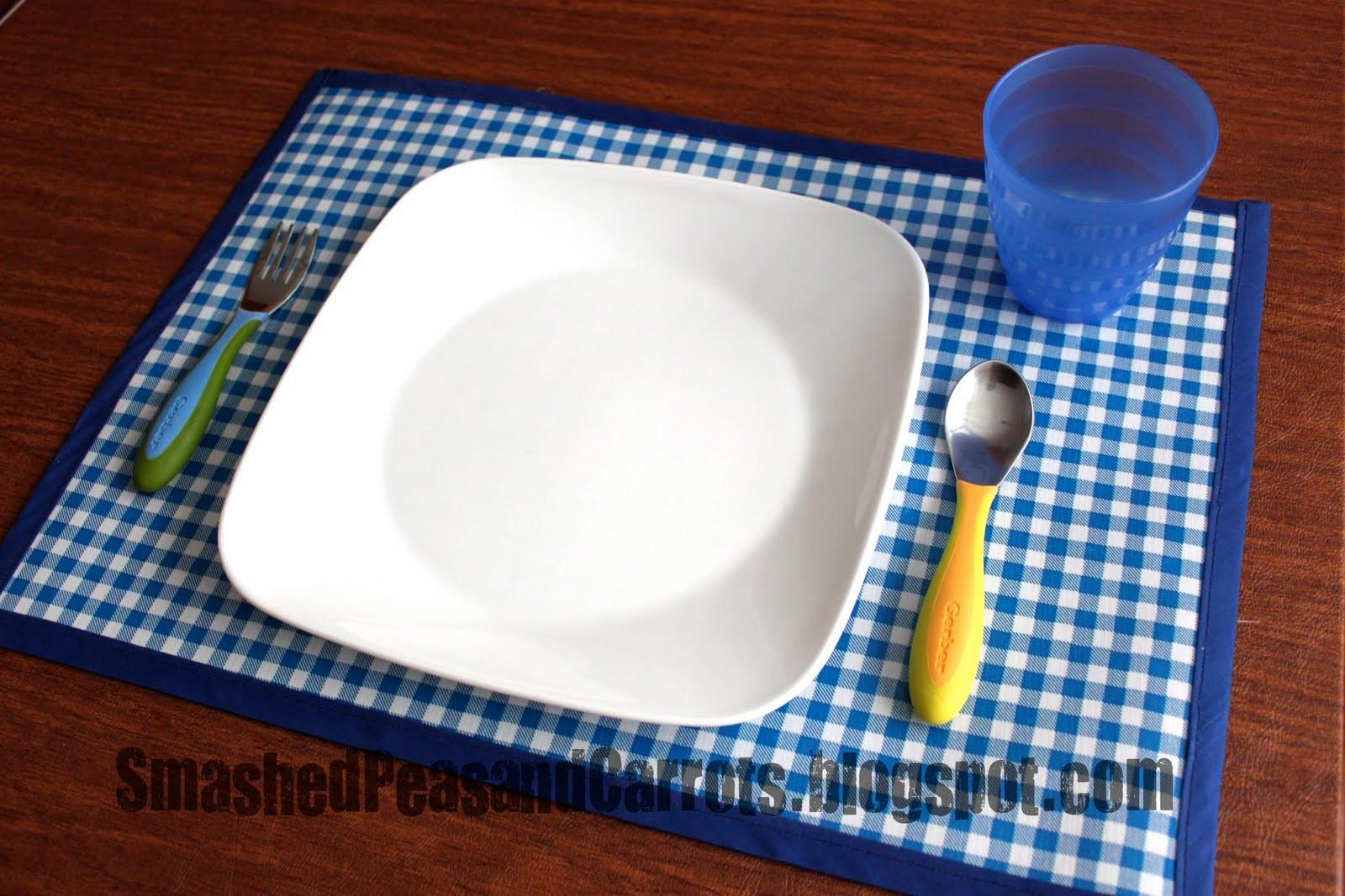 Chalkcloth Oil Cloth Placemat Tutorial Smashed Peas