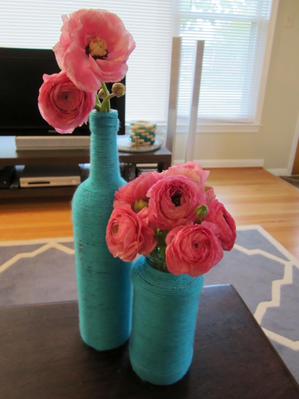 Chambray Countess Diy Yarn Vases Better Than