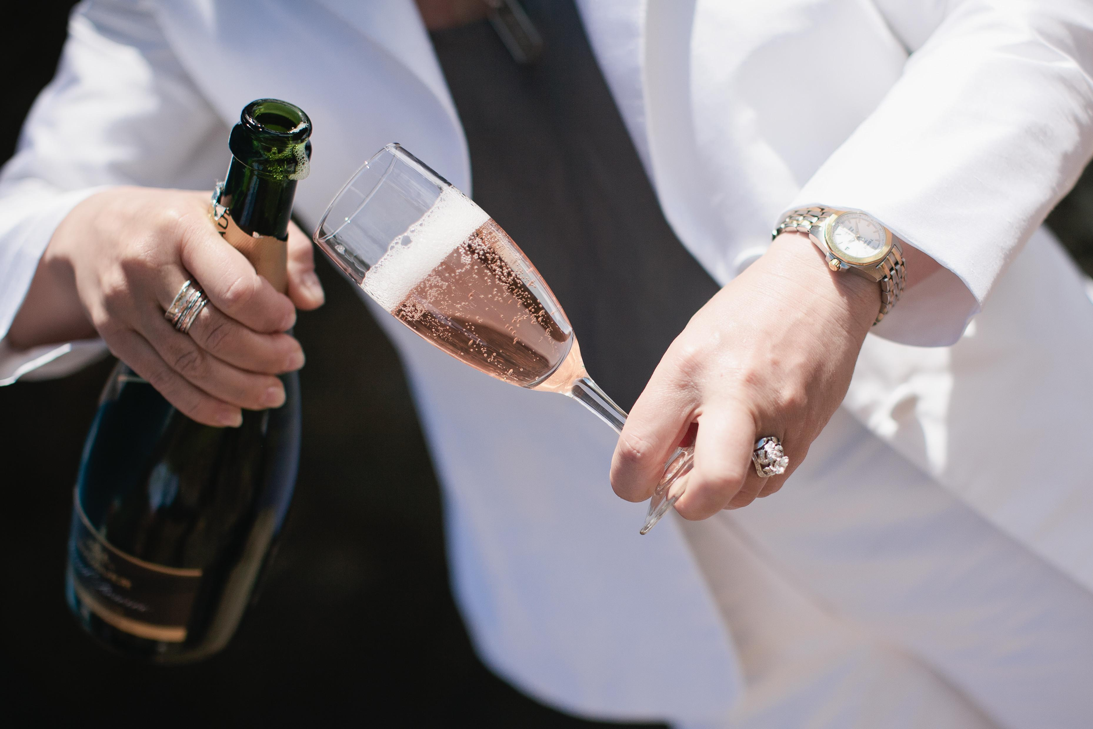 Champagne Flutes Queenstown Wedding Hire