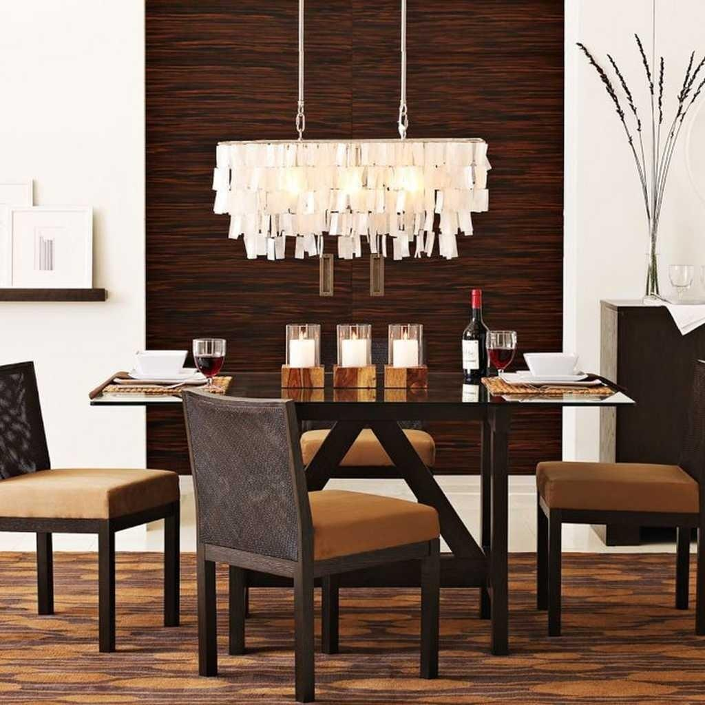 Chandelier Long Dining Room Table Tables