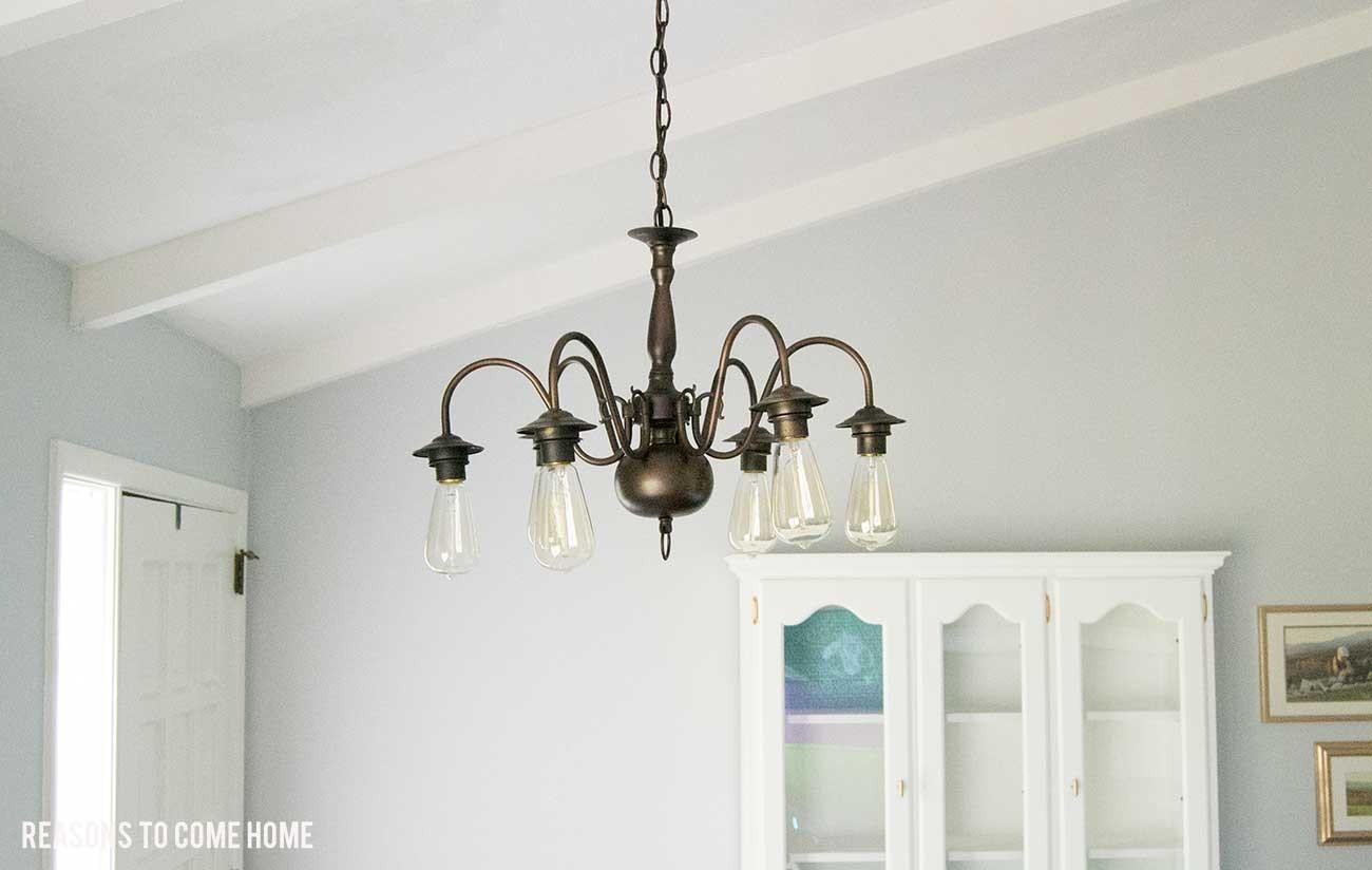 Chandelier Makeover Reasons Come Home