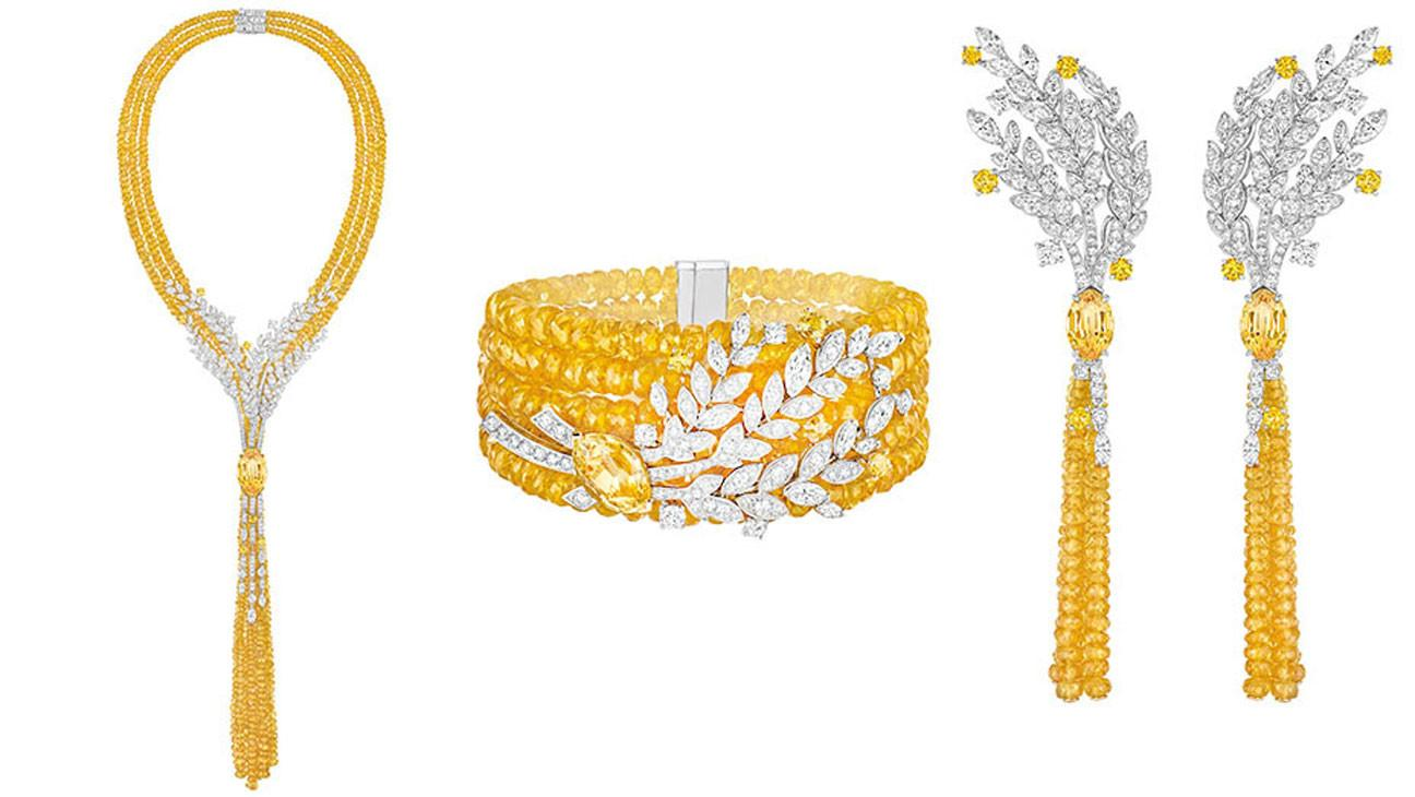 Chanel Wheat Inspired High Jewelry Collection Nod