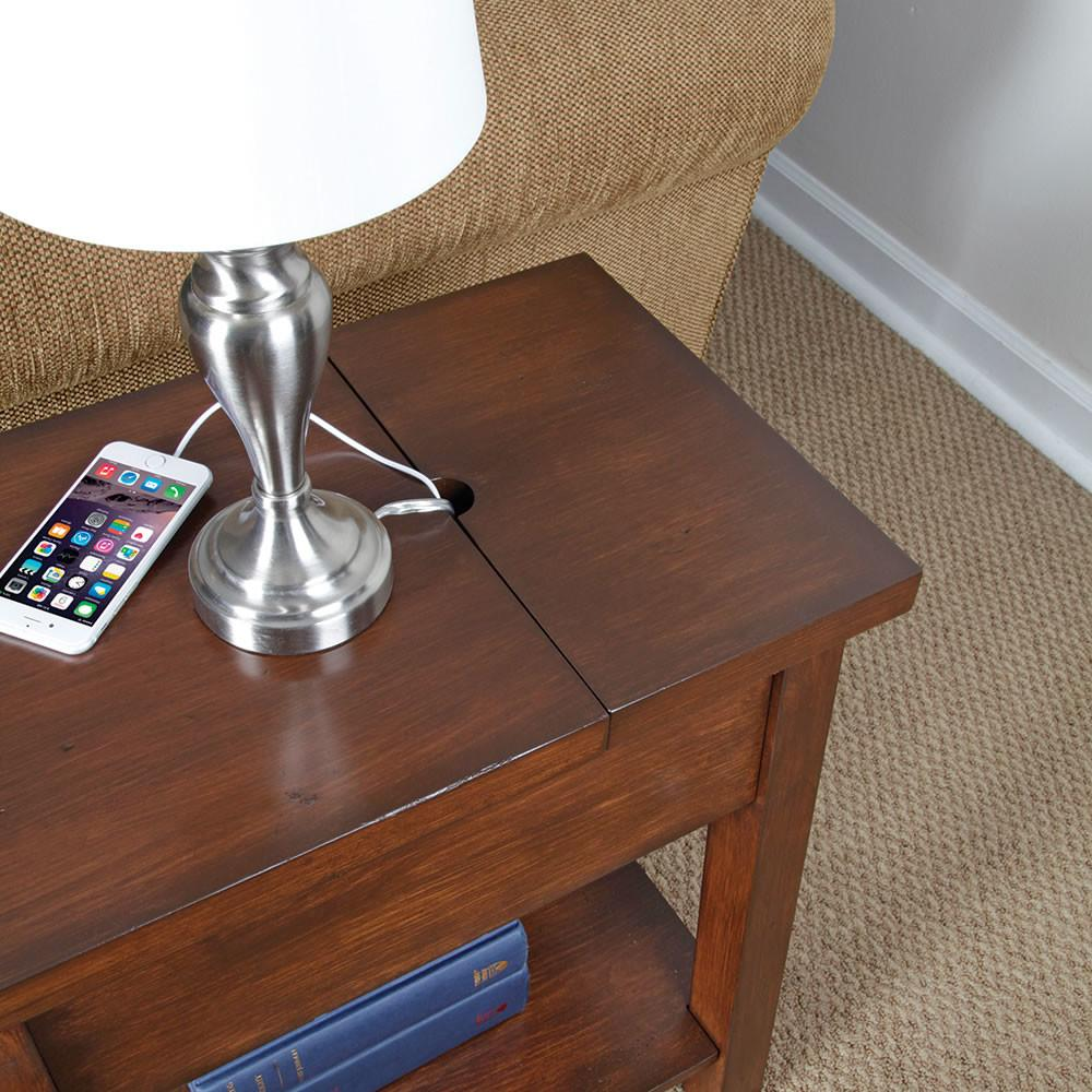 Charging Station Table End