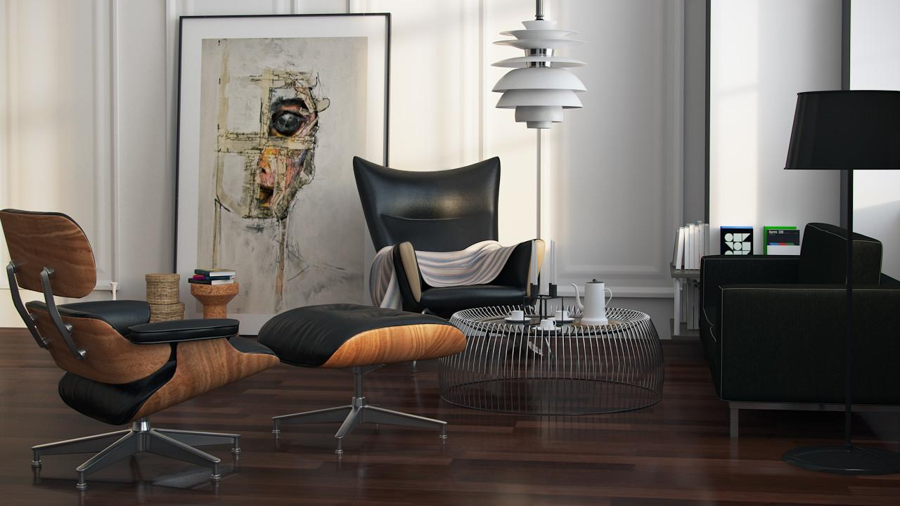 Charles Eames Lounge Chair Coolector