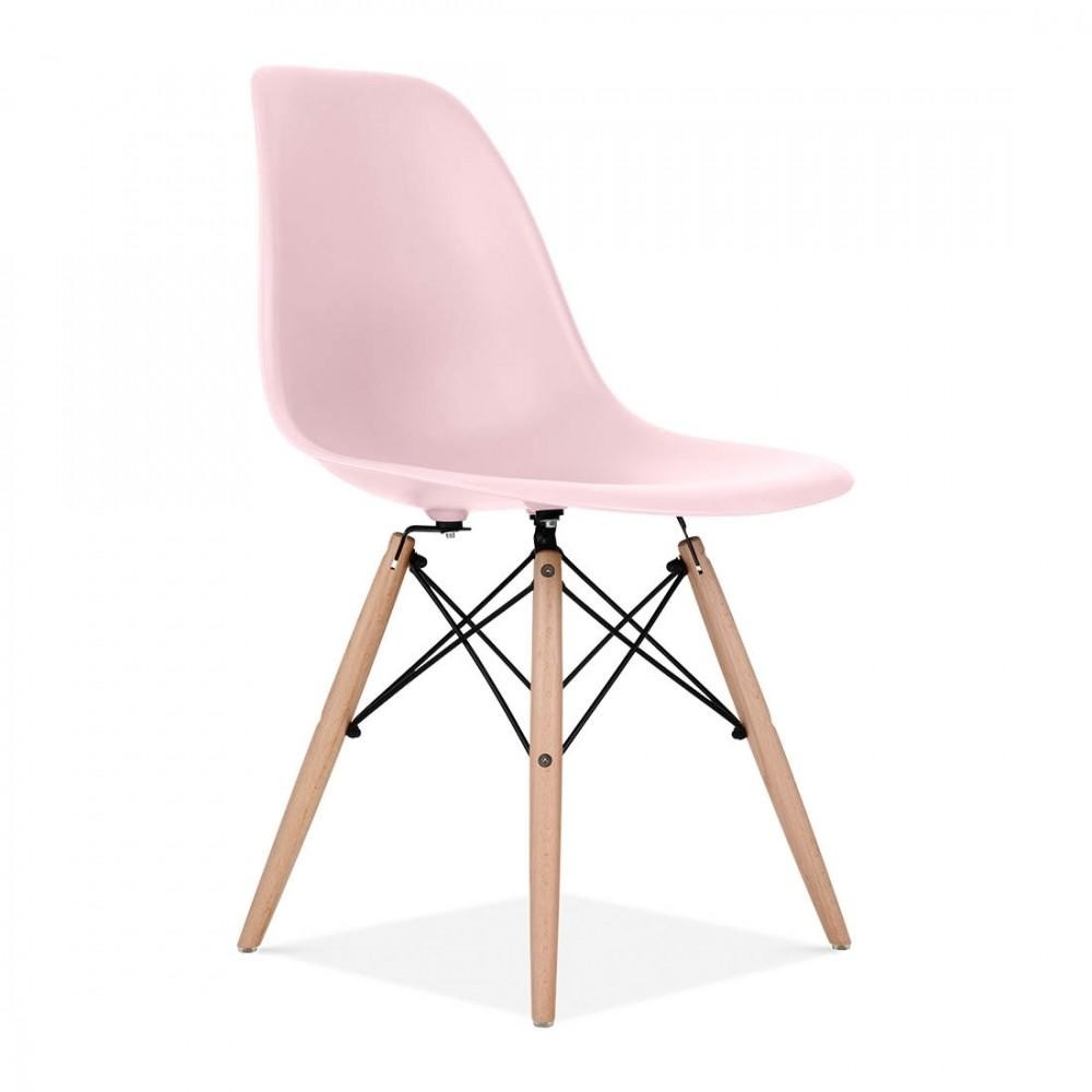 Charles Eames Style Pastel Pink Dsw Chair Dining Chairs