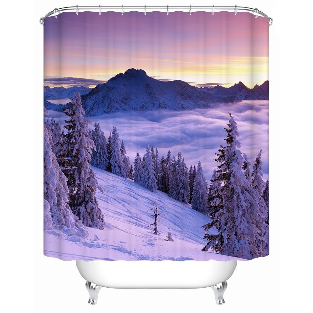 Charmhome Bathroom Products 2017 New Snow Mountain Views