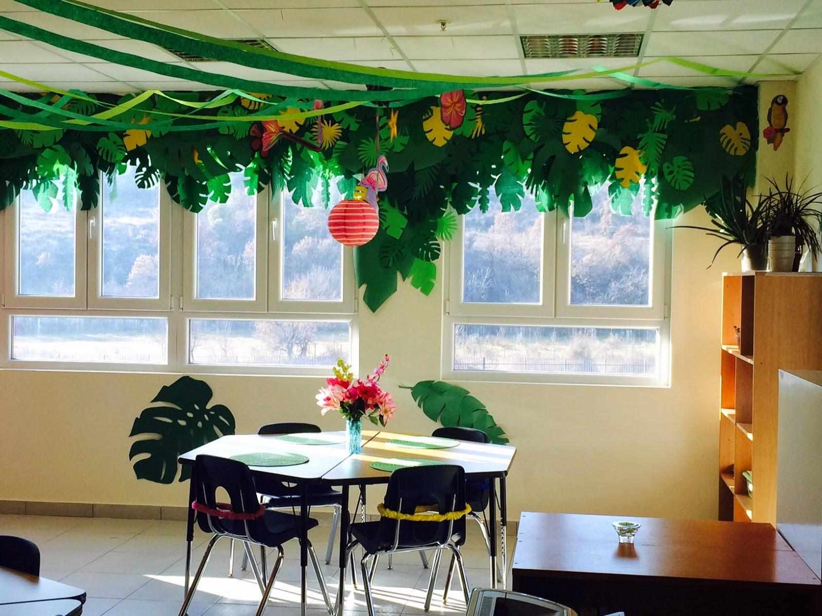 Charming Classroom Island Jungle Theme